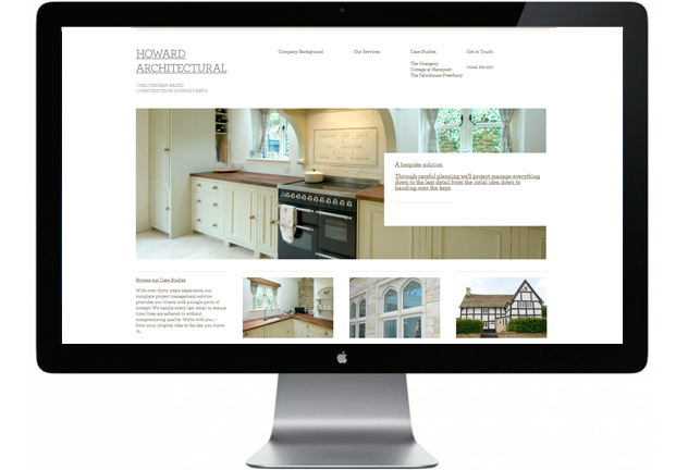 Howard Architectural website